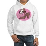 Will work for shoes forever Hooded Sweatshirt