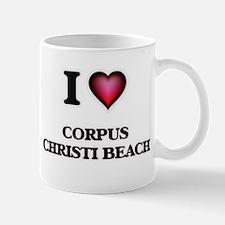 I love Corpus Christi Beach Texas Mugs