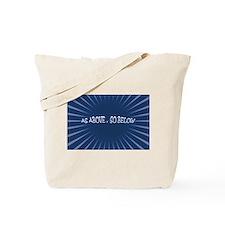 As Above, So Below Pagan Canvas Tote Bag