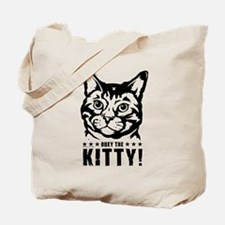 Obey the KITTY! 2-sided Tote Bag