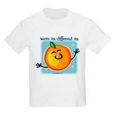 different as apples and oranges (orange) T-Shirt