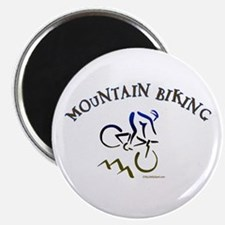 "MOUNTAIN BIKING 2.25"" Magnet (100 pack)"