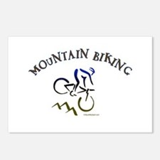 MOUNTAIN BIKING Postcards (Package of 8)