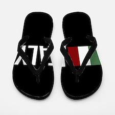 Italy: Italian Flag & Italy Flip Flops