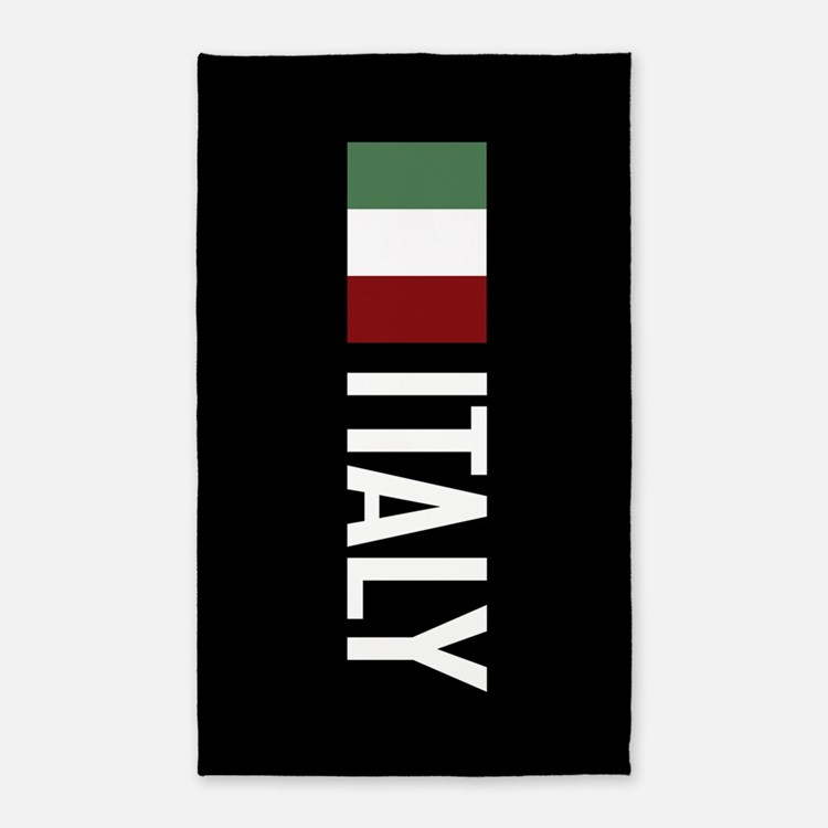 Italy: Italian Flag & Italy Area Rug