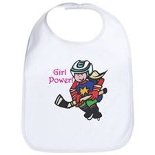 Girl Power Hockey Player Bib