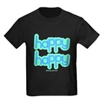 Happy Happy Joy Joy (happy) Kids Dark T-Shirt