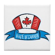 Made in Canada Tile Coaster