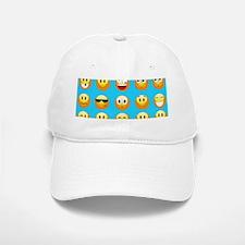 aqua blue emojis Baseball Baseball Cap