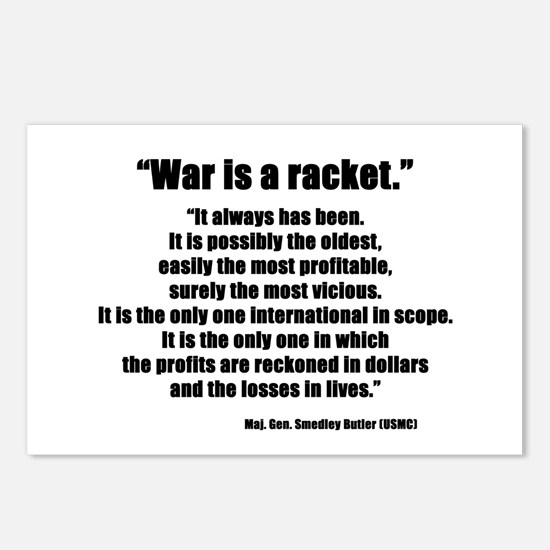 War is a Racket Postcards (Package of 8)