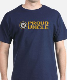 U.S. Navy: Proud Uncle T-Shirt