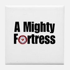 A Mighty Fortress Tile Coaster