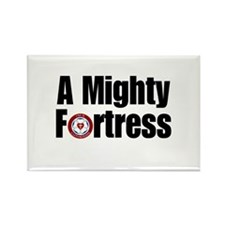 A Mighty Fortress Rectangle Magnet (10 pack)