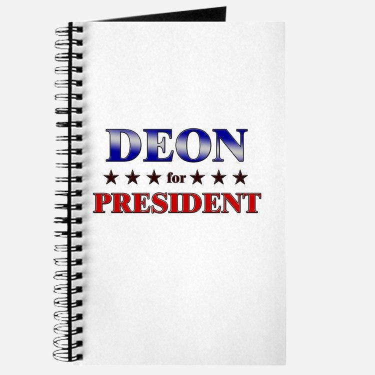 DEON for president Journal