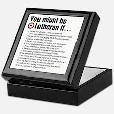 Might Be Lutheran Keepsake Box