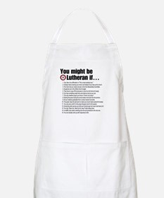 Might Be Lutheran BBQ Apron