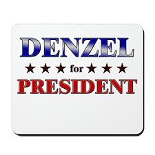 DENZEL for president Mousepad