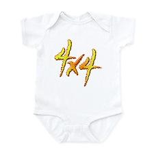 4x4 Fire Infant Bodysuit