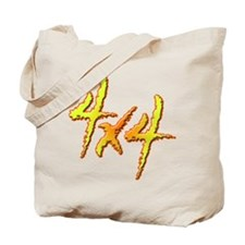 4x4 Fire Tote Bag