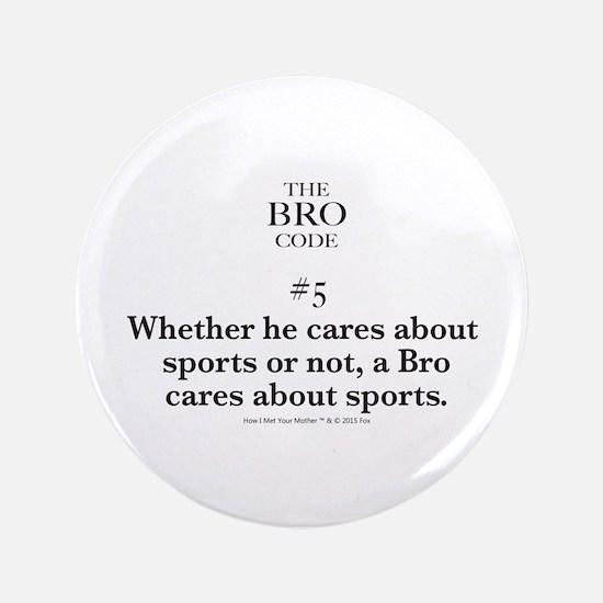 Bro Code #5 Button