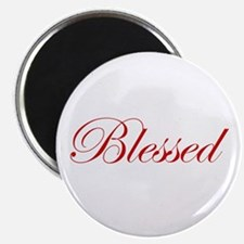Red Blessed Magnet