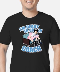 Ready to Go in Coach Men's Fitted T-Shirt (dark)