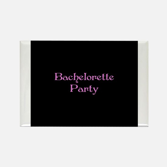 Bachelorette Party -LiL Pink Rectangle Magnet