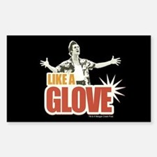 Ace Ventura Like a Glove Sticker (Rectangle)