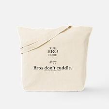Bro Code #77 Tote Bag