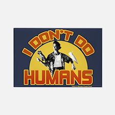 Ace Ventura Don't Do Humans Rectangle Magnet