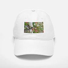 Hummingbird flower fun Baseball Baseball Cap