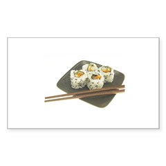 Sushi Out! Rectangle Decal