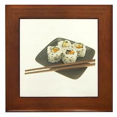 Sushi Out! Framed Tile