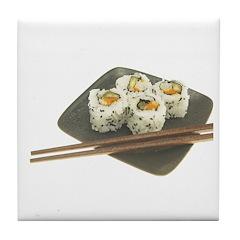 Sushi Out! Tile Coaster