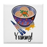 Yummy Dumpling Tile Coaster