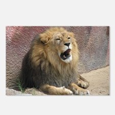 Helaine's Roaring Lion Postcards (Package of 8)
