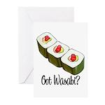 Got Wasabi? Greeting Cards (Pk of 10)