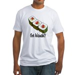 Got Wasabi? Fitted T-Shirt