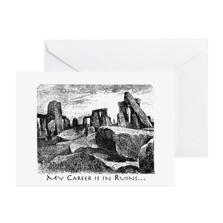 Archeology Career Ruins Greeting Cards (Pk of 20)