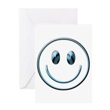 Crosseye Smiley Greeting Card