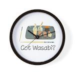 Got Wasabi? Wall Clock