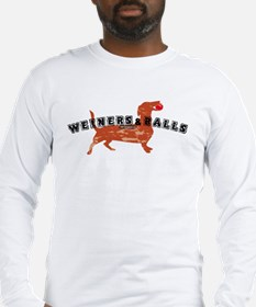 Weiners and Balls Long Sleeve T-Shirt