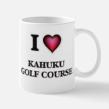 I love Kahuku Golf Course Hawaii Mugs