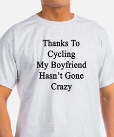 Cute Boyfriend cyclist T-Shirt