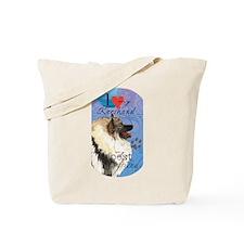 Keeshond Tote Bag