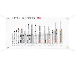 Titan Rockets Poster Banner