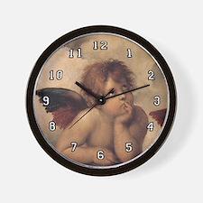 Angel Wall Clock