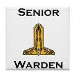 Senior Warden Tile Coaster