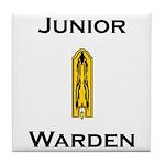 Junior Warden Tile Coaster