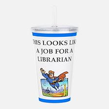 Job joke Acrylic Double-wall Tumbler